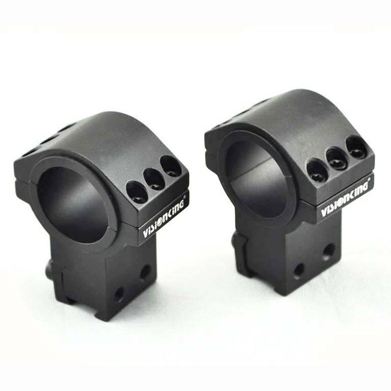Visionking wysokiej jakości pierścienie montażowe aluminium zakres mocowania 25.4mm 30mm Tube Mount dla. 223. 308. 50 Cal 11mm wysokie pierścienie mocujące