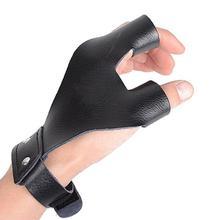 Традиционные защитные перчатки из микрофибры с бантом для рук, профессиональные защитные перчатки для охоты