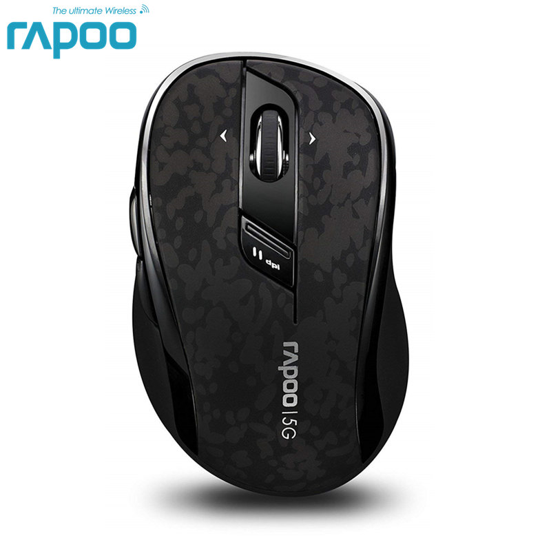 Original Rapoo Hochwertige Classic 5G Wireless Optical Gaming Mouse mit DPI 4D Scroll für Desktop Laptop PC Computer