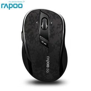 Image 1 - الأصلي Rapoo جودة عالية الكلاسيكية 5G ماوس الألعاب البصرية اللاسلكية مع ضبط DPI 4D التمرير لسطح المكتب كمبيوتر محمول جهاز كمبيوتر شخصي