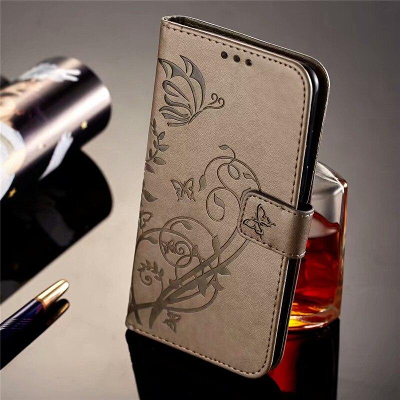 Lyxiga blommaskinnfodral för Huawei Honor 8 fodral 5,2 tums - Reservdelar och tillbehör för mobiltelefoner - Foto 2
