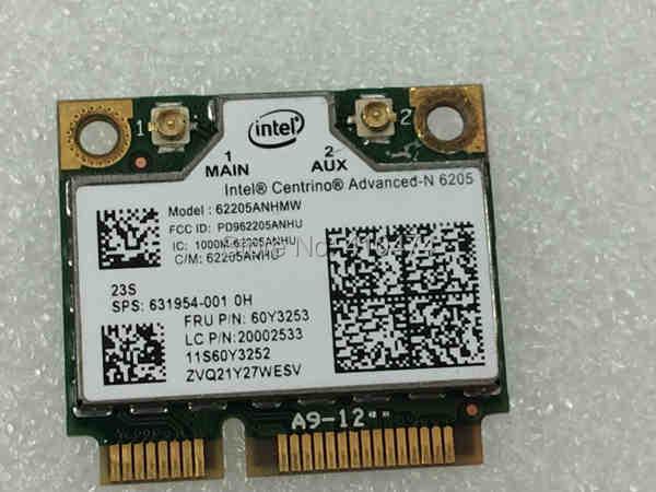 Galleria fotografica Carte réseau pour <font><b>Intel</b></font> advanced-n 6205 6205AGN 62205HMW 2.4 GHz / 5 GHz sans fil carte pour Lenovo t420 t420i t520 x220 x220i 60Y3253