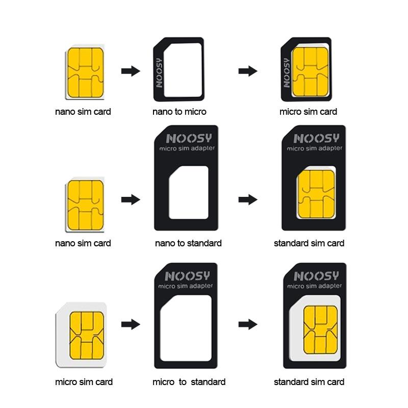Nano Karte.4 In 1 Nano Sim Karte Micro Sim Adapter Standard Sim Karte Adapter Stoßen Pin Für Iphone 7 8 4 S 5 5 S 6 6 S Xs Max Xr Handys Super Sale July 2019