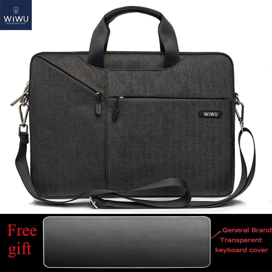 WiWU Laptop Messenger Bag 13.3 14.1 15.4 15.6 16 17.3 Waterproof Notebook Bag for Dell 14 Laptop Bag for Macbook Pro 16 Bag 2019(China)
