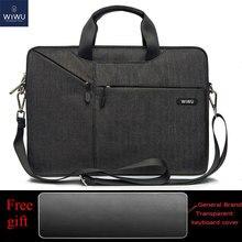 WiWU Laptop Messenger Bag 13.3 14.1 15.4 15.6 17.3 Waterproof Nylon Notebook for Dell 14 Macbook Pro 13 Case
