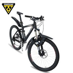 Image 4 - Topear garde boue pour vtt, 26, 27.5, 29 pouces, aile avant et arrière de la bicyclette large, garde boue VTT