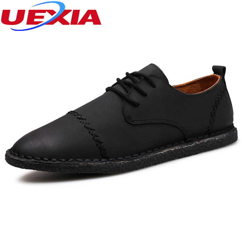 Suede Leathe Fashion Casual Male Shoes Breathable Men Shoes Slip On Leather Sewing Driving Loafers Walking Oxfords Work Shoes branded men s penny loafes casual men s full grain leather emboss crocodile boat shoes slip on breathable moccasin driving shoes