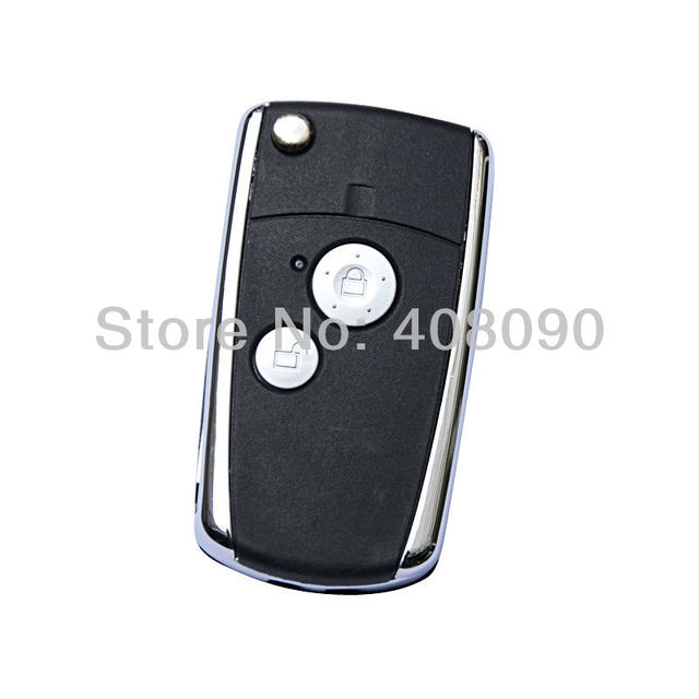 Flip Folding Remote Key Shell Case For Honda Accord Pilot CR-V Civic 2BT  DKT0102