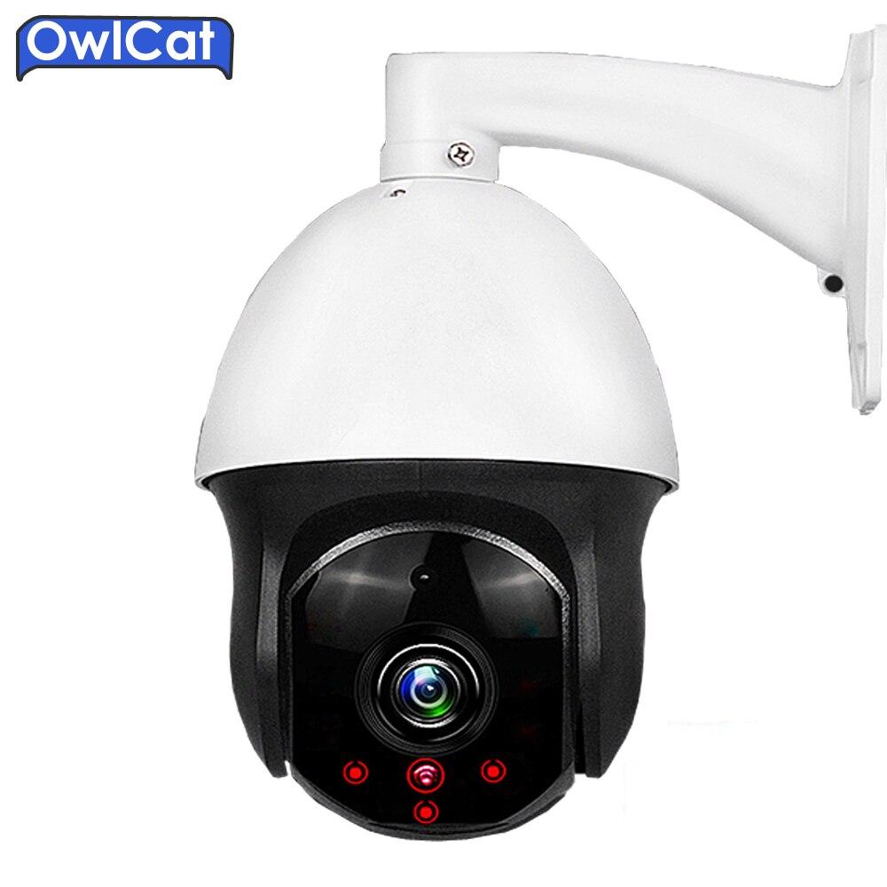 OwlCat HD 1080P IP Camera 3X Motorized Auto Zoom Focus Lens 2.8-8mm Varifocal 2.0MP Indoor Plastic PTZ IP Camera IR cut Onvif