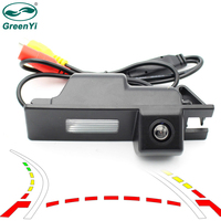 GreenYi Intelligent Rear View Camera for Chevrolet Cobalt II 2011 2014 Vehicle Back Camera with Trajectory Dynamic Parking Line