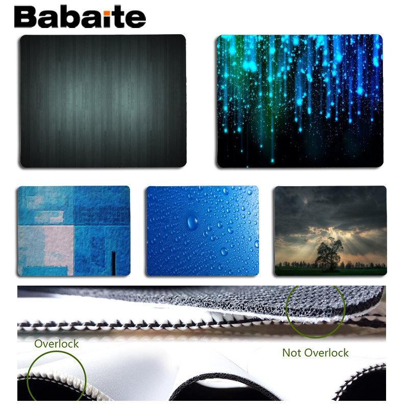 Babaite Cool New High Definition Large Mouse pad PC Computer mat Size for 18x22cm 25x29cm Rubber Mousemats