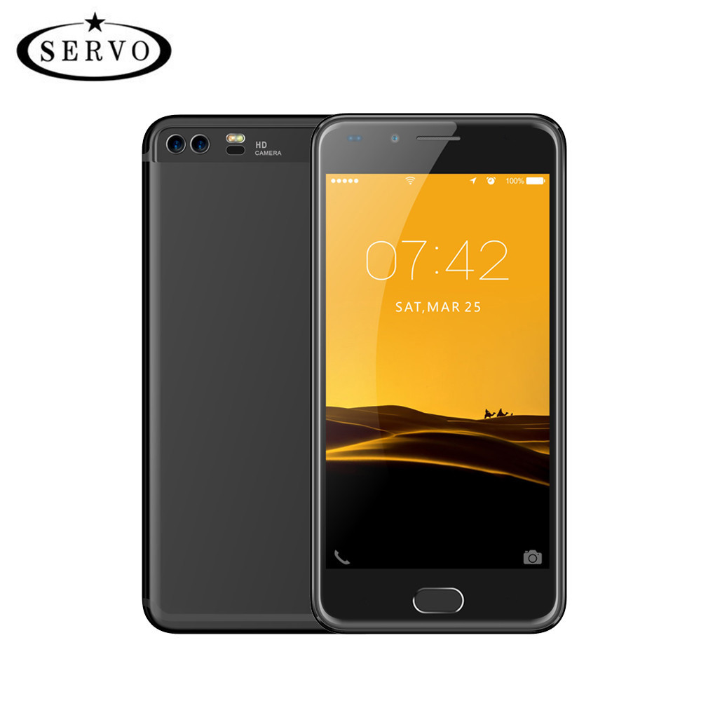SERVO X5 4G LTE Mobile Phone 5.0 Spreadtrum9832A Quad Core cellphone RAM 1GB ROM 8GB Camera 8.0MP OS Android 6.0 GPS Smartphone