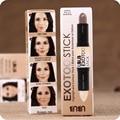 Marca UBUB Contorno Contorno Palo de Dos extremos 2 in1 Resaltador Bronceador Crear 3D Maquillaje de Cara Maquillaje Corrector Cremoso