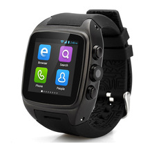 2016 New 3G Bluetooth Smart Watch Android 4.4.2 Smart Phone Watch X01 Dual Core RAM 512MB ROM 4GB Camera Wifi GPS Watch Phone
