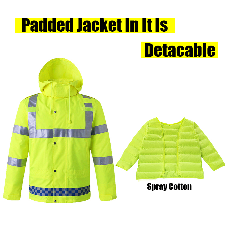 Mens Raincoats Reflective Jacket Raincoat Water/Wind-Proof Fluorescent Inexperienced 3XL Padded Jacket Removable Reflective Clothes Jackets, Low-cost Jackets, Mens Raincoats Reflective Jacket Raincoat Water/Wind Proof Fluorescent Inexperienced 3XL Padded Jacket...