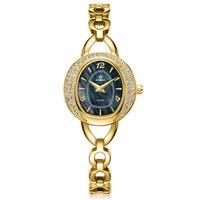 2018 CASIMA Элитный бренд браслет Часы Для женщин Montre Femme Повседневное флэш бурение Водонепроницаемый женские кварцевые часы Relojes Mujer