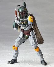 2016New Hot Star Wars REVO 005 Bounty Hunter Boba Fett 16cm Toys PVC Action Figure