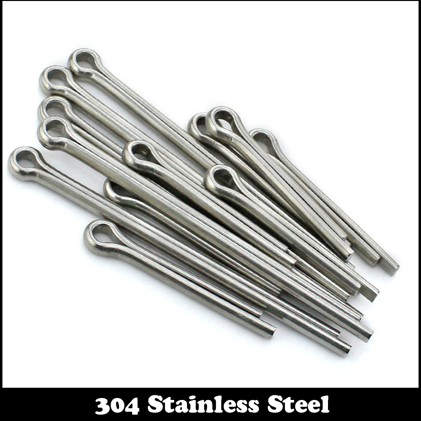M3 M4 M5 M3*50 M3x50 M4*80 M4x80 M5*25 M5x25 304 Stainless Steel 304ss DIN94 Metric U Type Hairpin Shape Spring Split Cotter Pin 50 pieces metric m4 zinc plated steel countersunk washers 4 x 2 x13 8mm
