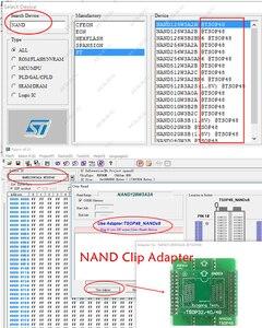 Image 4 - XGecu TL866II בתוספת אוניברסלי מתכנת + 25 מתאמים + NAND TSOP48 מתאם + SOP8 מבחן קליפ minipro TL866CS TL866A EPROM TL866 פלאש