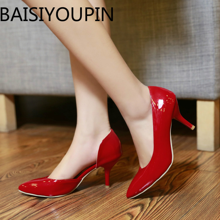 Simple Women High Heels Shoes Extra Small Size 28 29