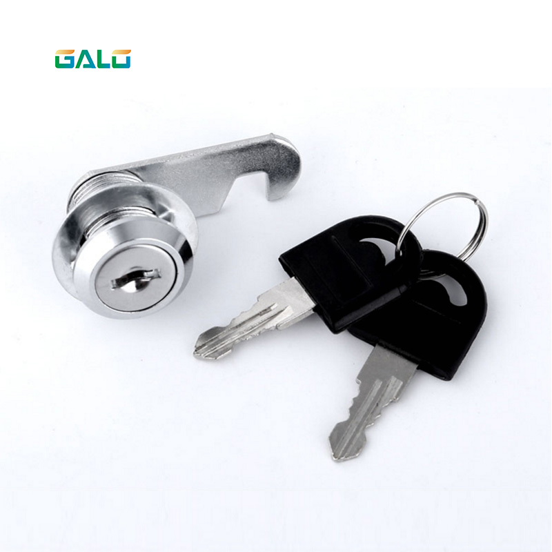 Security Drawer Cam Lock Cylinder Door Mailbox Cabinet Tool Box Lock 2 Keys Hardware Locks