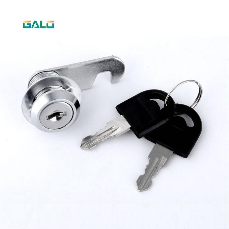 Security Drawer Cam Lock Cylinder Door Mailbox Cabinet Tool Box Lock 2 Keys Hardware Locks