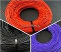 Diy auriculares fiebre cable tpe alambre de cobre línea de señal de línea estéreo ocasional anti-estirado 10 metros
