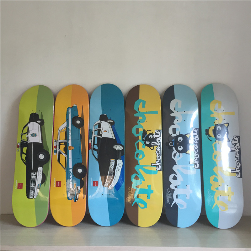 ФОТО CHOCOLATE Graphics Skateboard Deck Professional Skate Deck 8