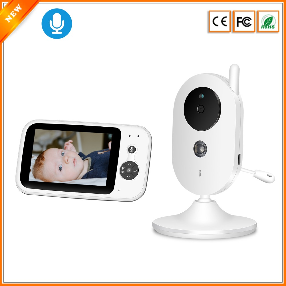 BESDER Wireless Video Baby Monitor 3 5 inch Colorful Display Baby Nanny Security Camera Night Vision