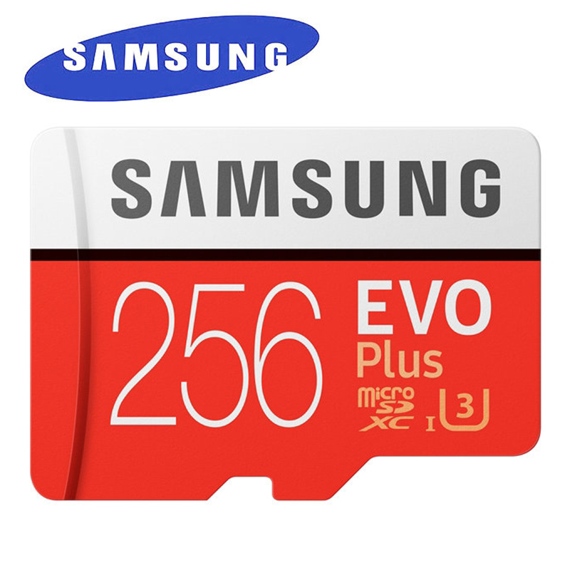 SAMSUNG EVO Plus Micro SD Memory Card 256GB 95MB s Class10 U3 UHS I TF Card