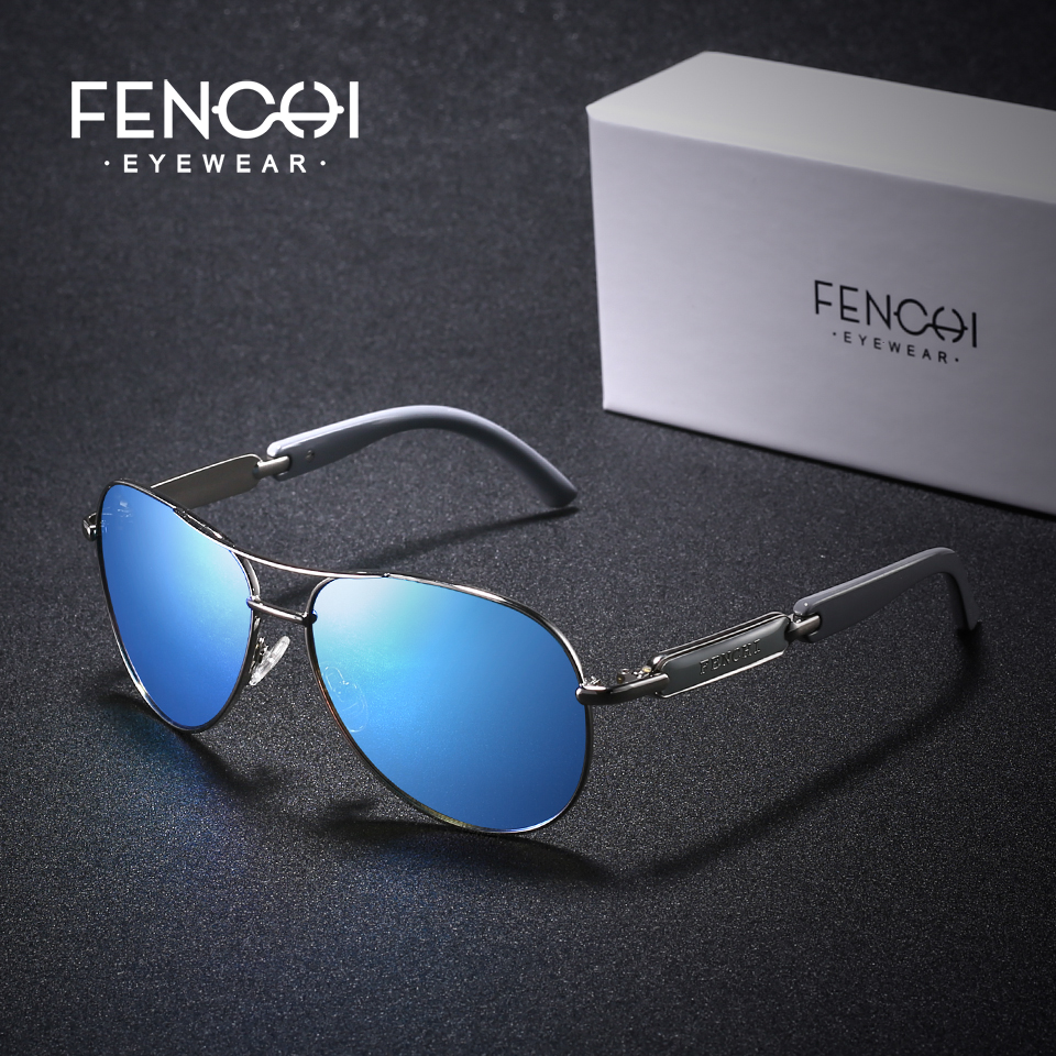 FENCHI Polarized Sunglasses Women Vintage Brand Glasses Driving Pilot Pink Mirror sunglasses Men ladies oculos de sol feminino 4