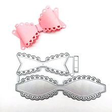 DIY Bowknot Bow Metal Cutting Dies Stencil for Scrapbooking album Decorative Embossing Craft Cut Paper Cards Tool