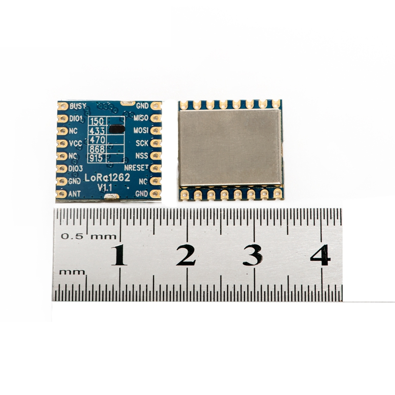2pcs/lot Lora1268 4Km-6Km 160mW 433MHz SX1268 22dBm High Sensitivity Low Current SPI Port Lora Module