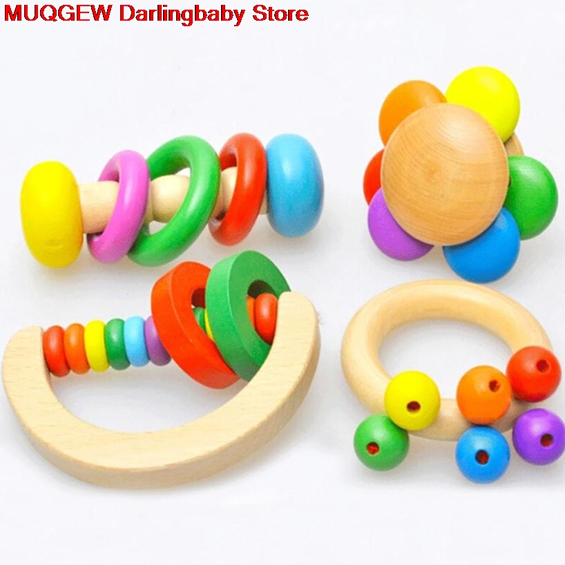 Baby Rattles Mobiles Grasp Play Game Teething Infant Early Musical Learning Education Fun Funny Interesting Toys Birthday Gift