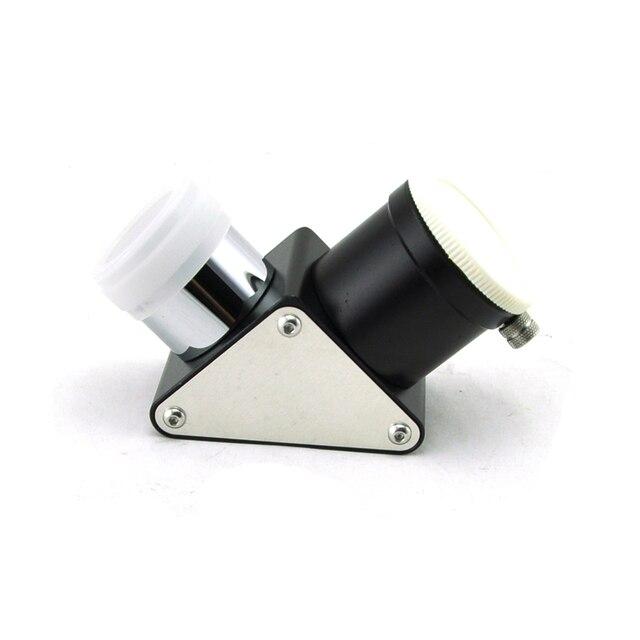 Visionking 1,25 дюймов 90 градусов астрономический телескоп Металл Диагональное зеркало для окуляра пыли шапки