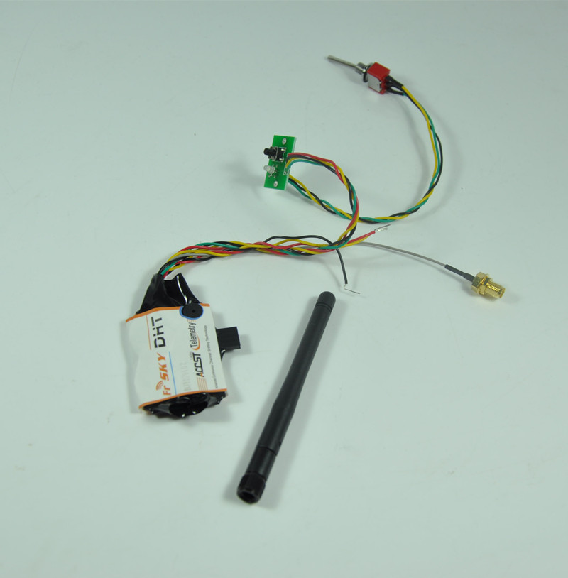 FrSky DHT 8CH DIY Compatible Telemetry Transmitter Module DIY Transmitter Module For RC Multicopter Part frsky tfr6 tfr6 a 7ch 2 4g receiver compatible with futaba fasst frsky tfr6 t8fg 10cg 14sg tf module