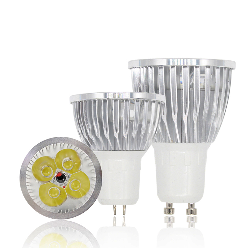 Lampada de led lamp GU10 bombillas led bulb GU5.3 ampoule led spotlight 110V 220V high power 3W 4W 5W light bulbs chandelier luz цены онлайн