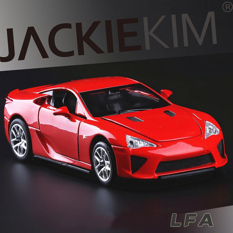 New Supercars: 1:32 LFA Alloy Supercar Model The Fast And The Furious For