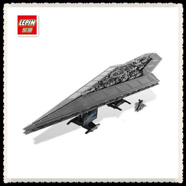 3208 PCS LEPIN 05028 Star Wars Blocs de Construction Imperial Star Destroyer Modèle d'action Briques Jouets Compatible 75055
