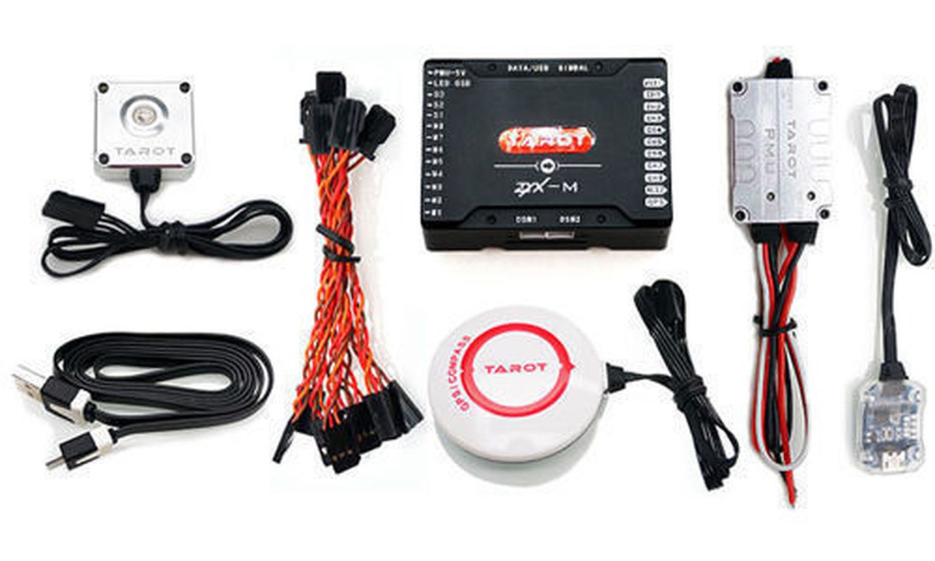 Tarot ZYX M Flight Controller GPS Combo PMU โมดูลสำหรับ FPV Multicopter Drone ZYX25 20% OFF-ใน ชิ้นส่วนและอุปกรณ์เสริม จาก ของเล่นและงานอดิเรก บน   2