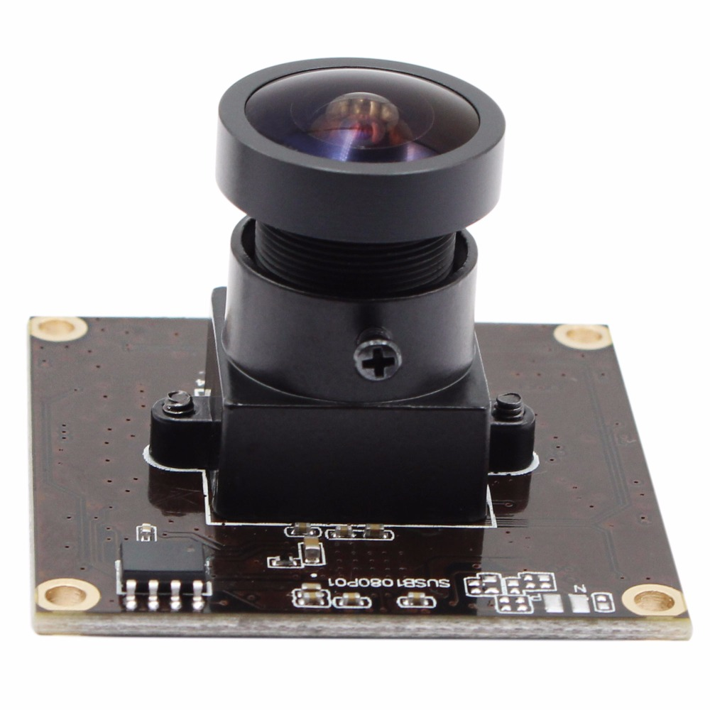 цена на ELP 2.0 Megapixel Sony IMX291 High Speed USB 3.0 Webcam Fisheye Wide View Angle UVC OTG Plug Play Driverless USB Camera Module