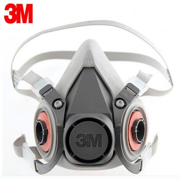 3 M 6300 Reutilizable Media Mascarilla Respirador de Bajo mantenimiento Sencillo de manejar Ligero 3 M Cara Máscara De Gas máscara LT017