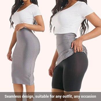 HEXIN Seamless High Waist Tummy Control Boyshort Panties Shapers Slimming Butt Booty Lifter Body Shaper Briefs Women Underwear 5