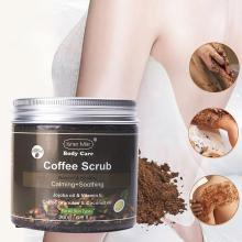 Cosprof кофейный скраб для тела, крем для лица, Соль Мертвого моря, отшелушивающий, отбеливающий, увлажняющий, антицеллюлитный, для лечения акне