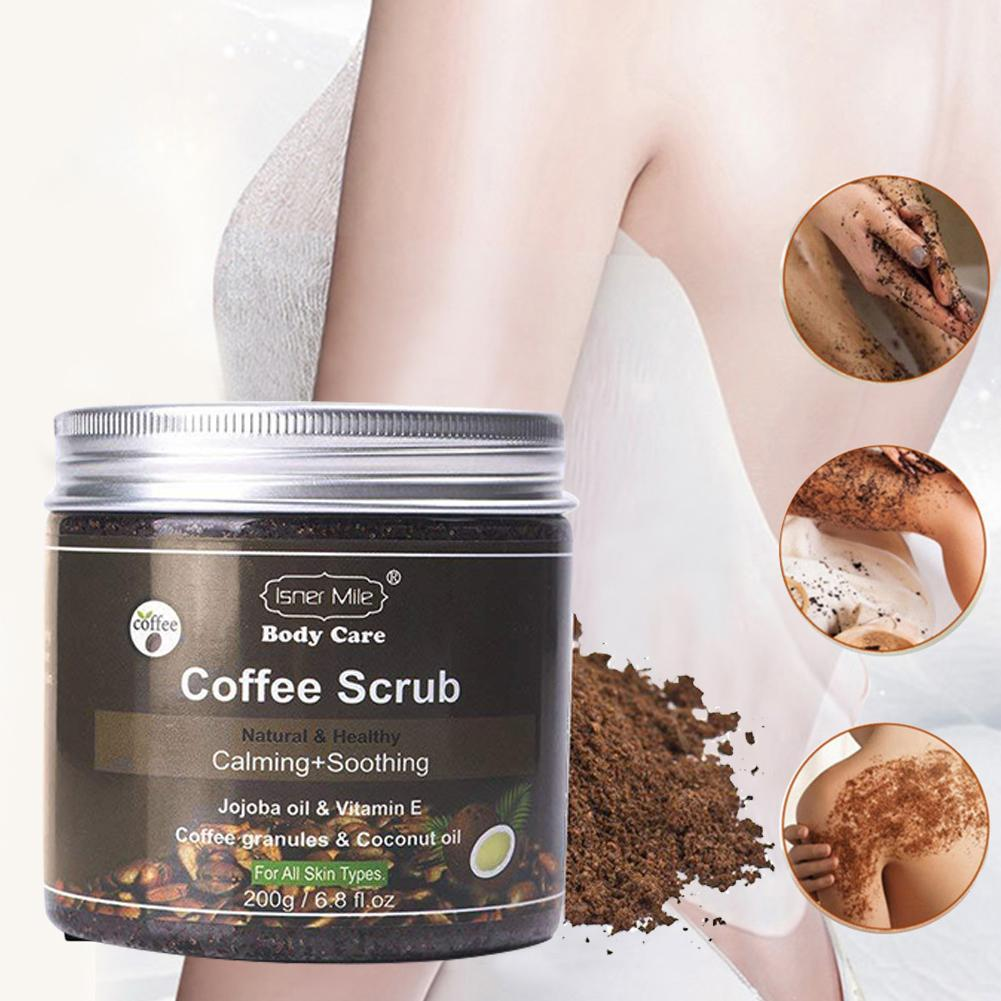Cosprof Coffee Scrub Body Scrub Cream Facial Dead Sea Salt For Exfoliating Whitening Moisturizing Anti Cellulite Treatment Acne