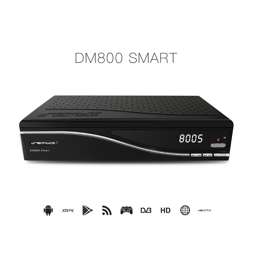 DM800 SMART HD Tv Receiver Android Satellite Tv Box Support CCCam Newccam MPEG-2 MPEG-4/H.264 DVB-S2