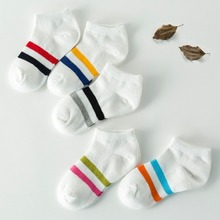 5 Pair lot font b Baby b font Socks Neonatal Summer Mesh Cotton Kids Girls Boys