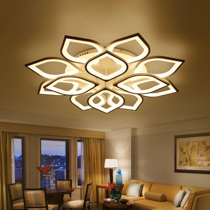 Modern Ceiling Lights Kitchen Restaurant Fixtures For Living Room Bedroom Space 15 30 Meters Indoor Dining