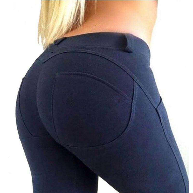 NORMOV Low Waist Leggings Women Sexy Hip Push Up Legging Gothic Leggins Jeggings Casual Workout Fitness Leggings Feminina