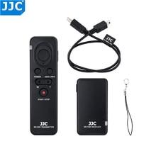 JJC Kamera Drahtlose Fernbedienung für Sony ZV1 A7RIV A7SIII A7II A6000 A6300 A6500 RX10II RX100IV FDR AX30 Camcorder Controller